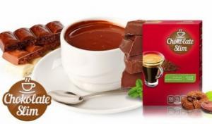 Chocolate slim - ordem- Portugal  - opiniões